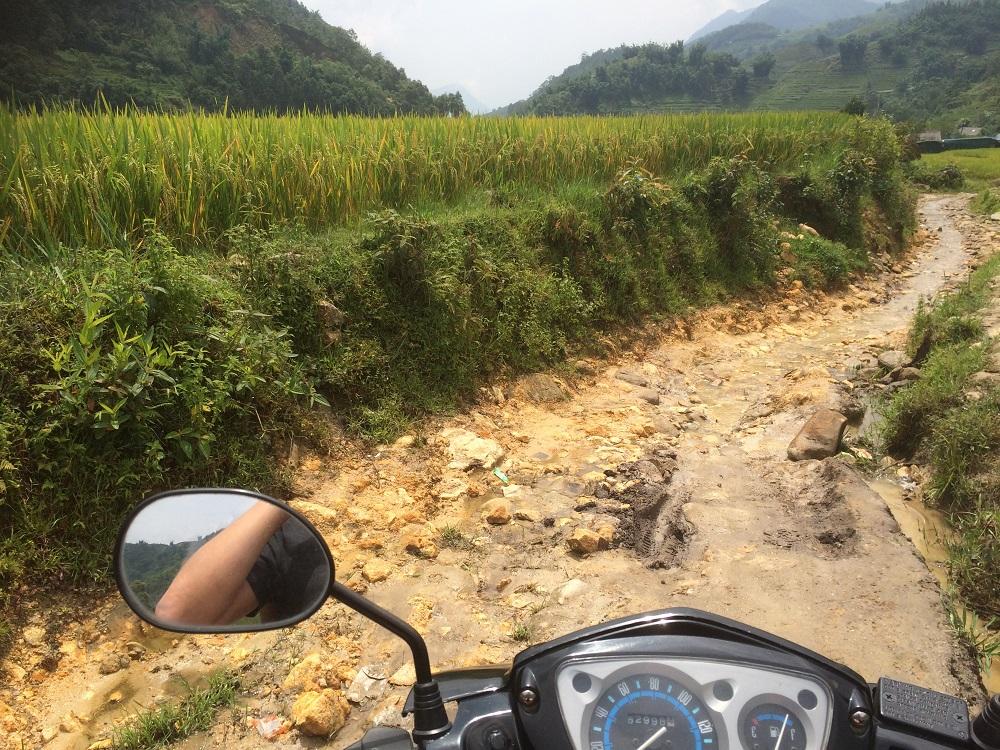 Sapa road or river