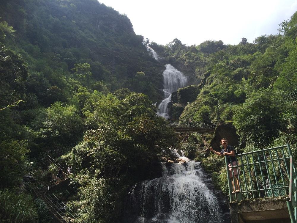 Sapa waterfall