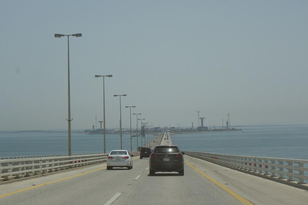 Causeway bridge Saudi Bahrain