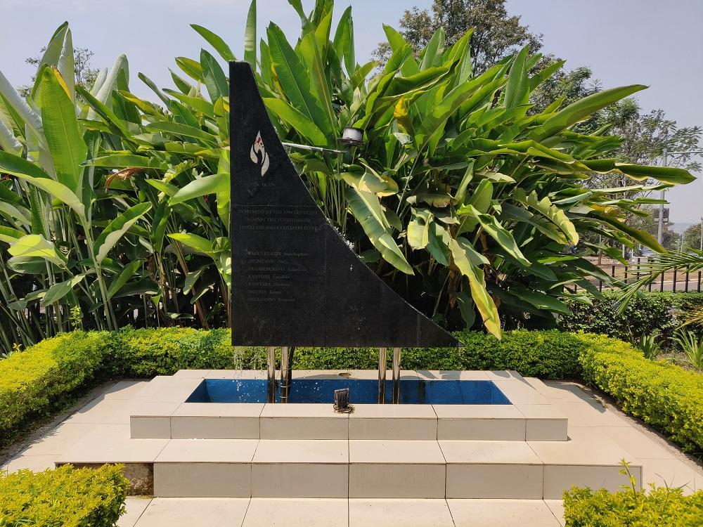 Hotel Rwanda Memorial stone