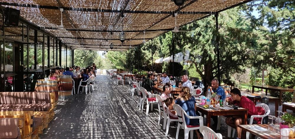Kefraya terrace lebanon