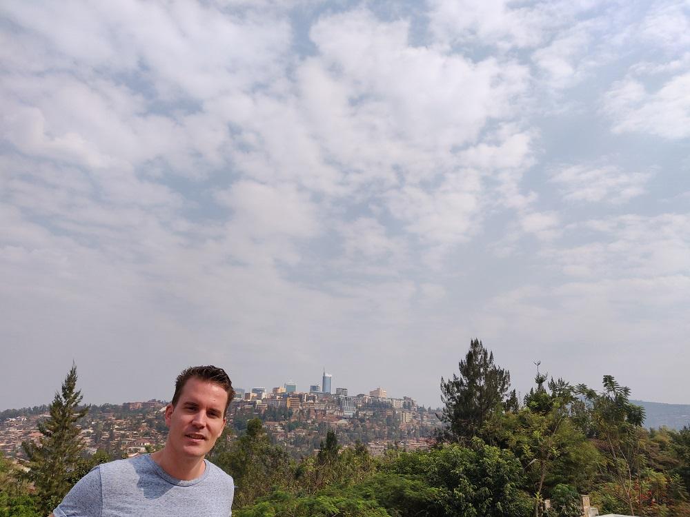 Kigali Genocide Memorial viewpoint