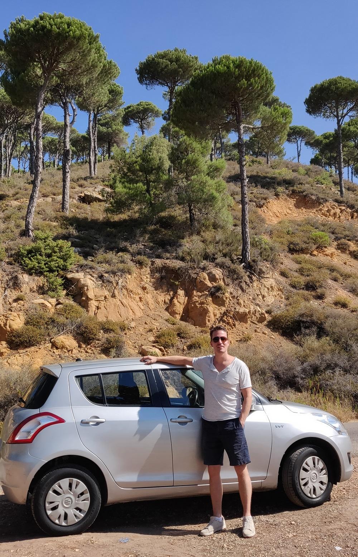 Lebanon rental car