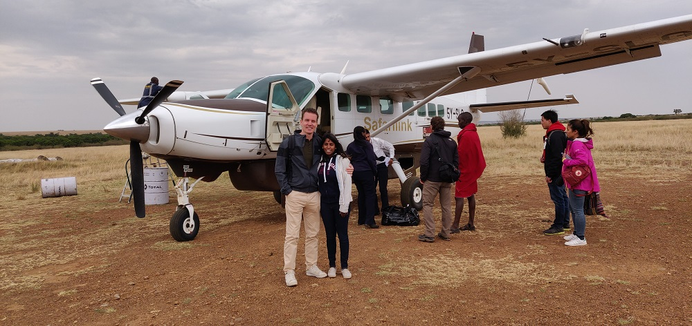 Masai Mara airplane