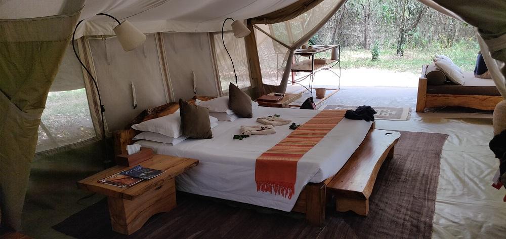 Masai Mara Safari Tent Inside
