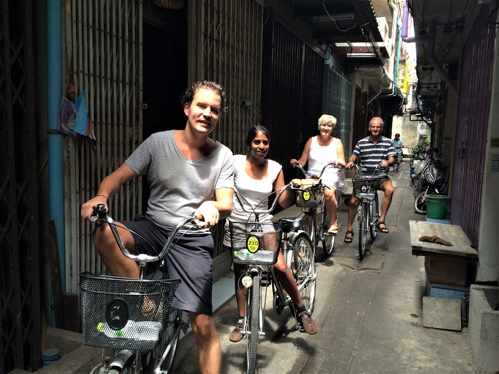 Cycling tour Bangkok