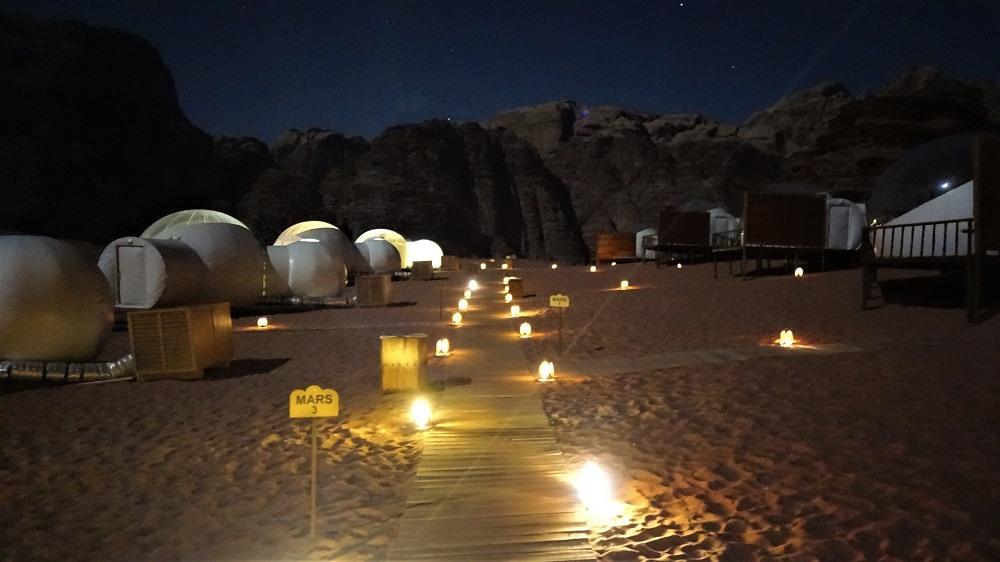 Wadi Rum Mars Camp