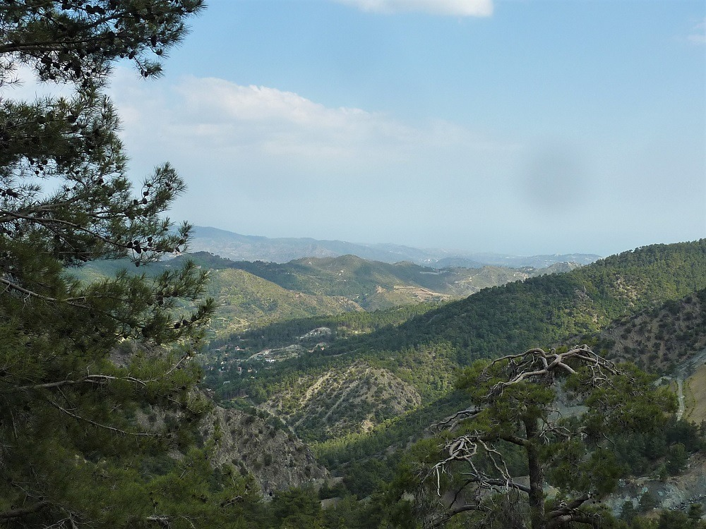 Troodos Mountains Cyprus