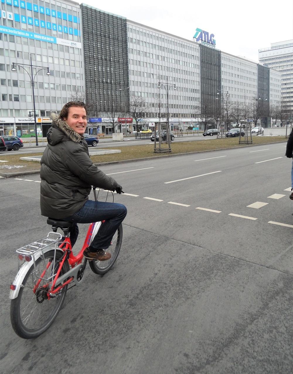 Berlin cycling tour