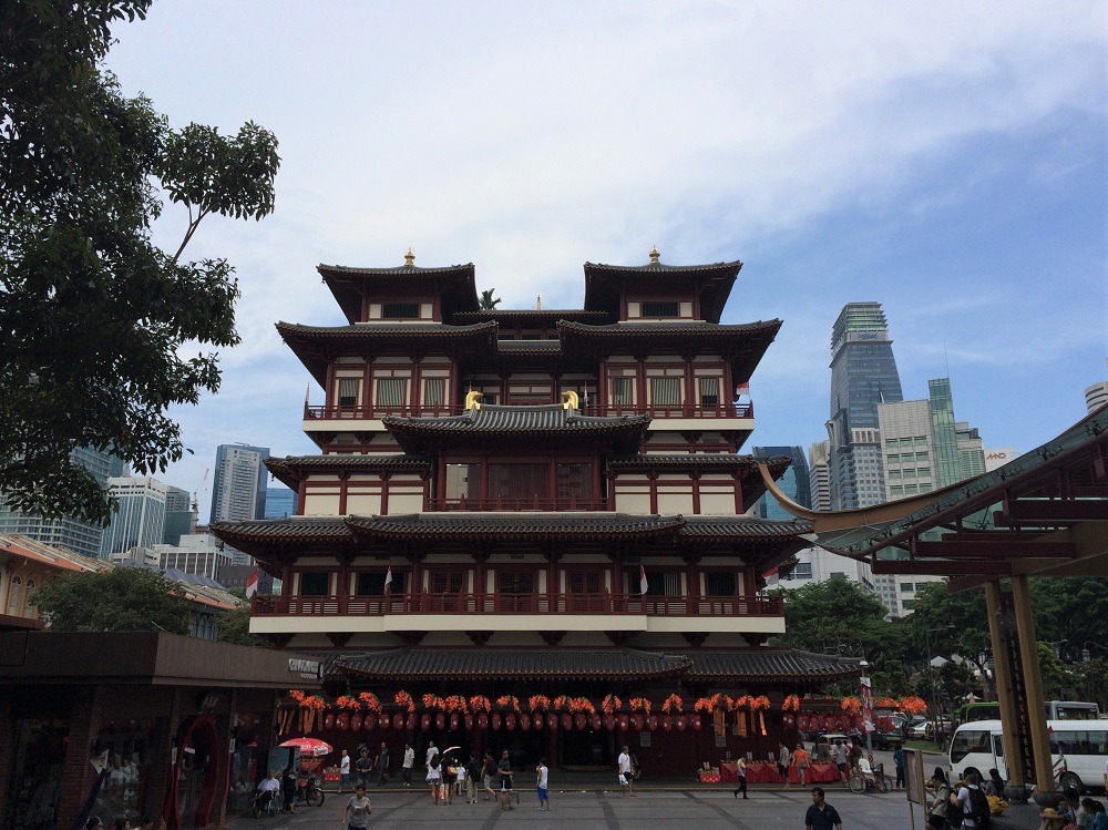 China Town Relic Tooth Temple