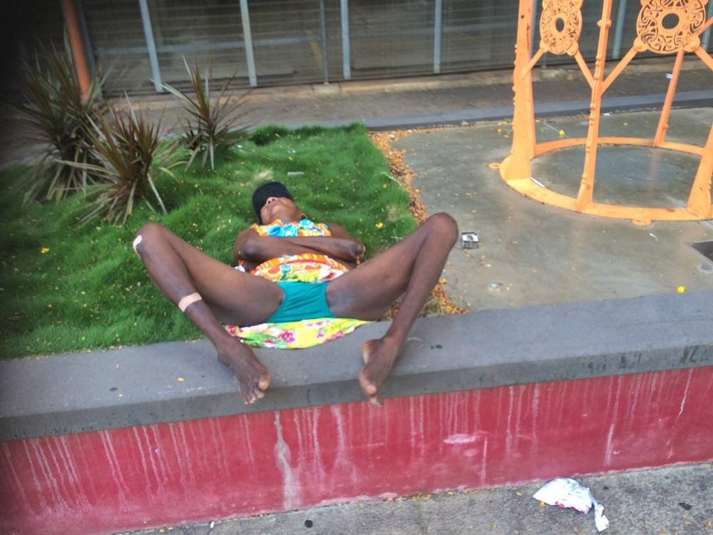 Darwin Aboriginal homeless