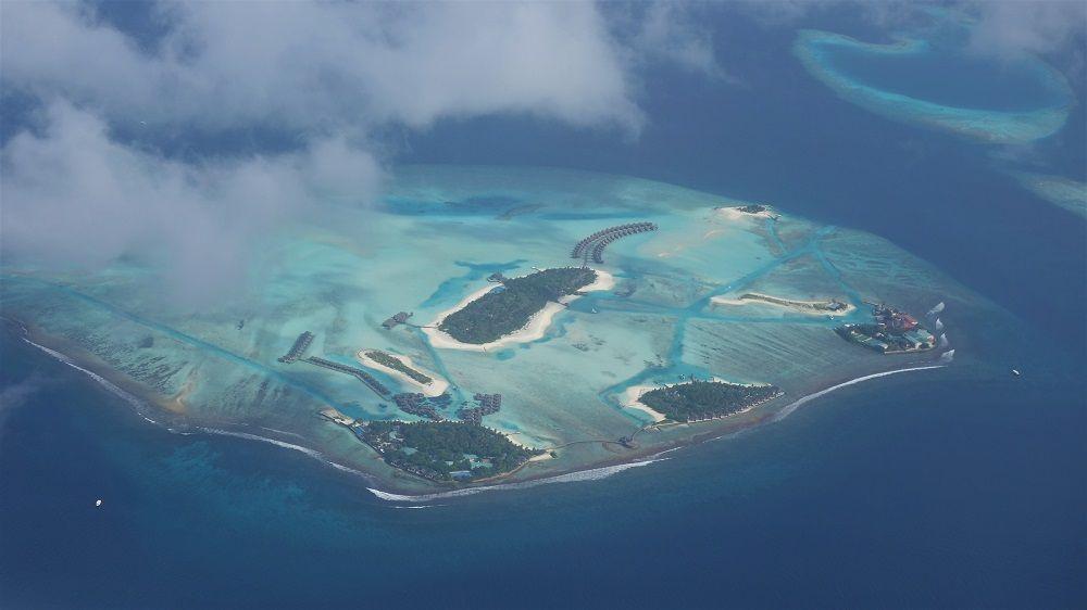 Maldives Aereal view
