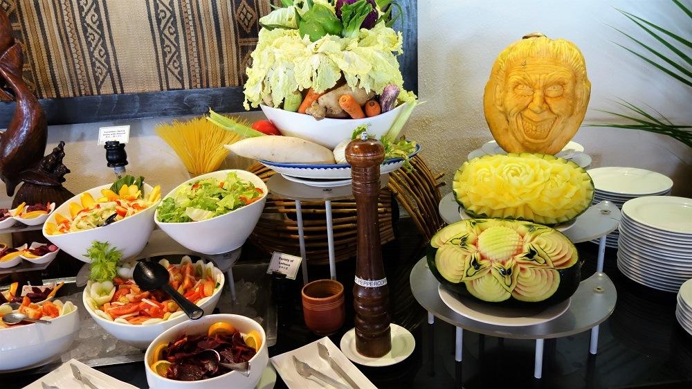 Maldives buffet