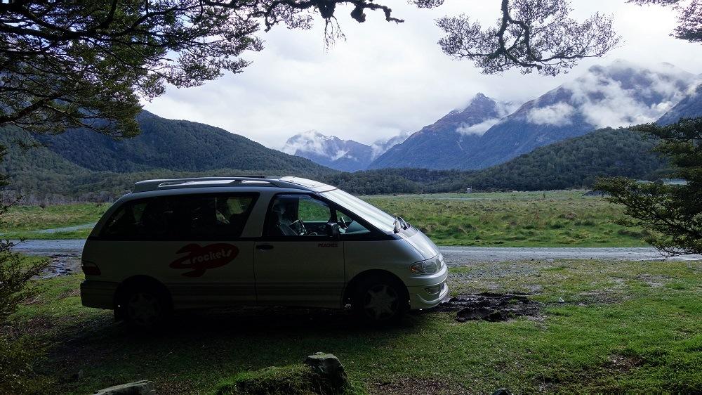 Te Anau camping
