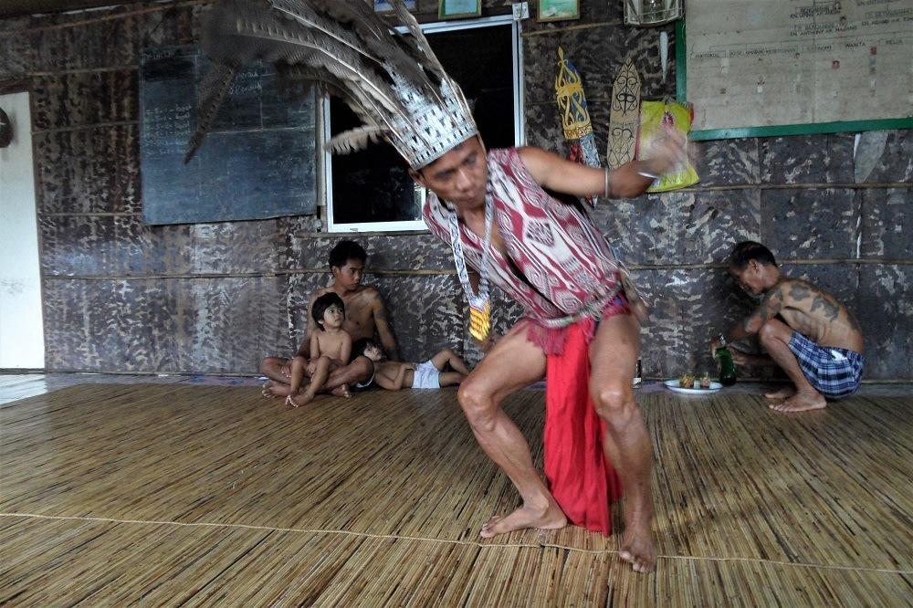 Borneo Iban tribe