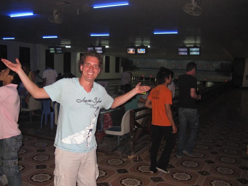 Laos Luang Prabang bowling