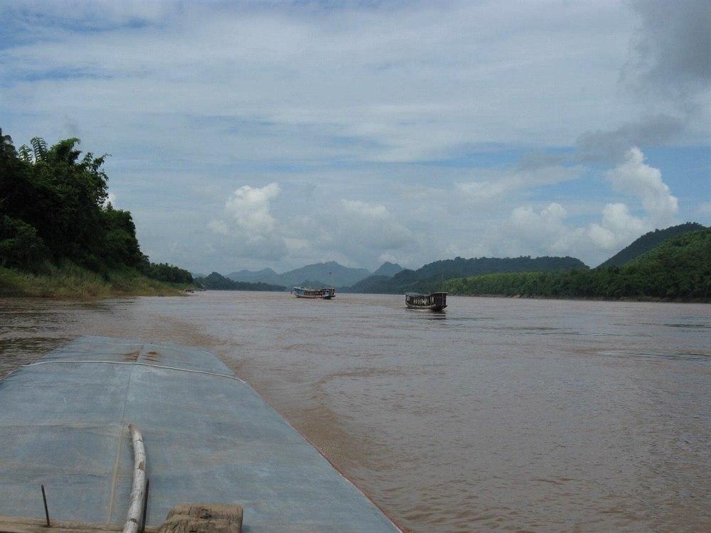Laos Luang Prabang Mekong