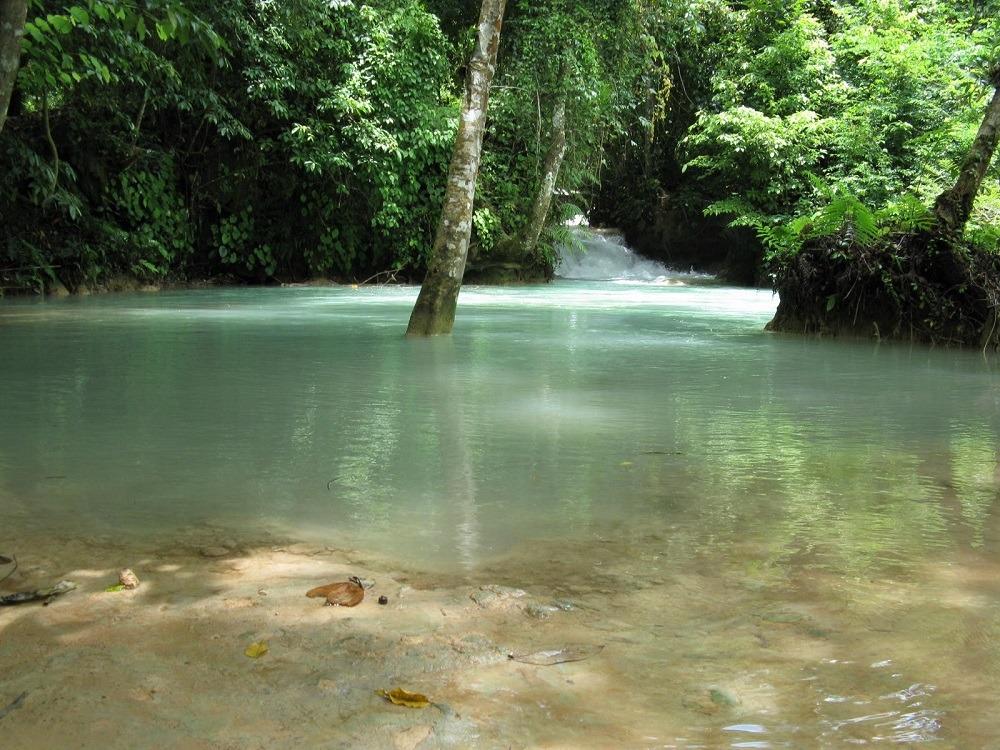 Laos Luang Prabang waterfall