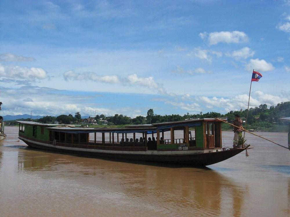 Laos Long Boat