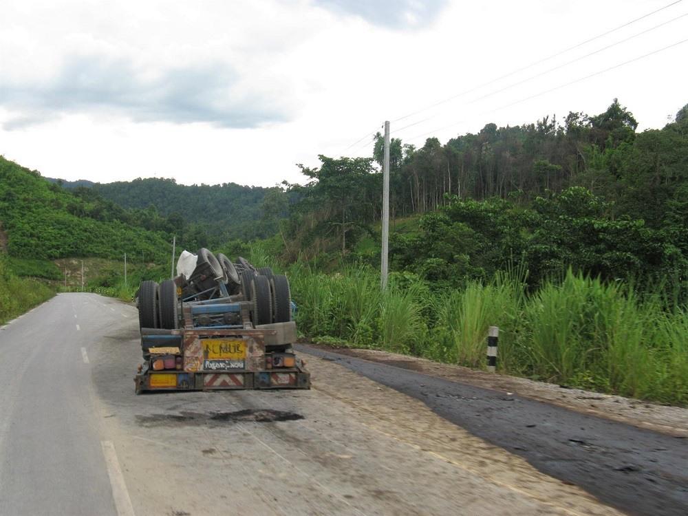 Laos van trip