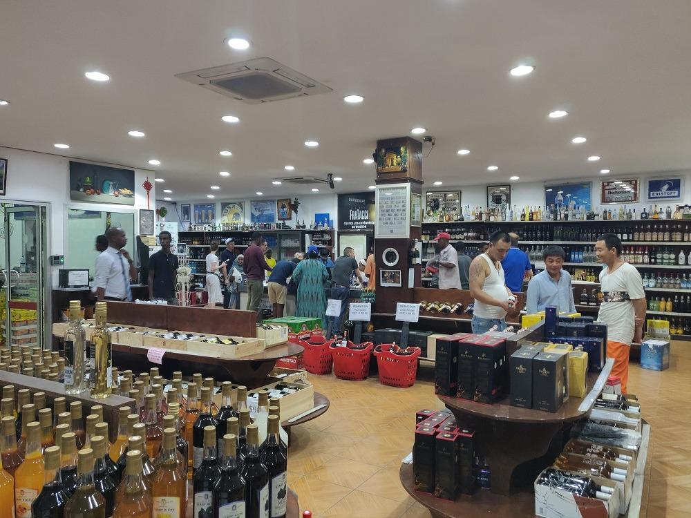 Fratacci Alcohol Store Djibouti