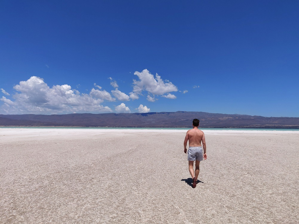 Lake Assal Djibouti