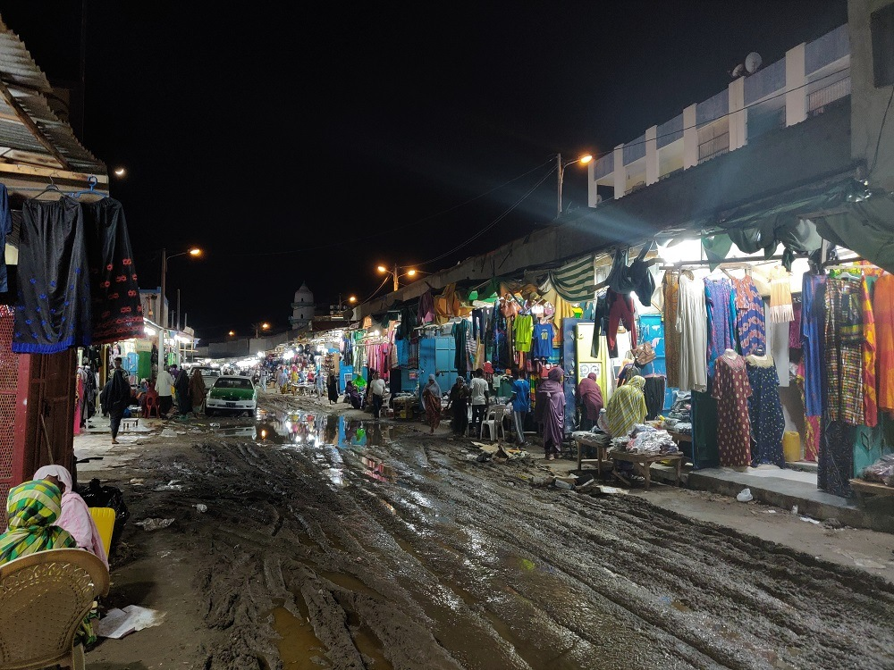 Djibouti Shopping street