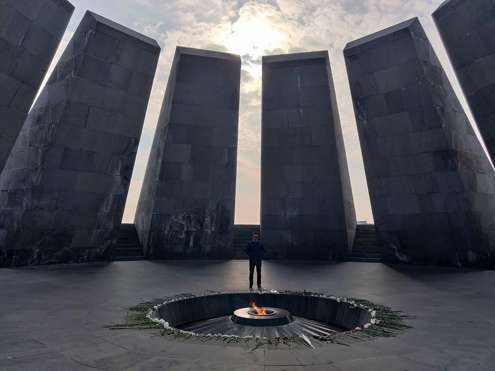 Genocide Memorial Yerevan Armenia