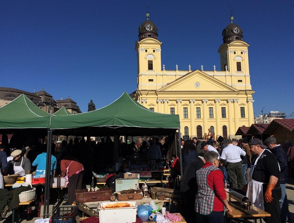 Debrecen market Hungary