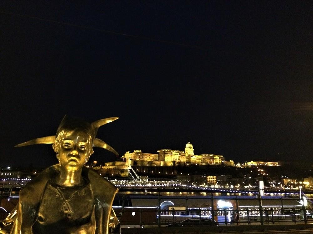 Budapest by night Hungary