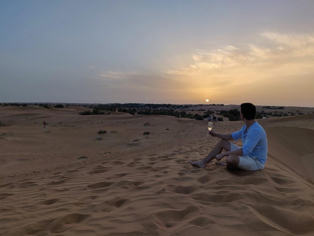Sunset Dubai UAE