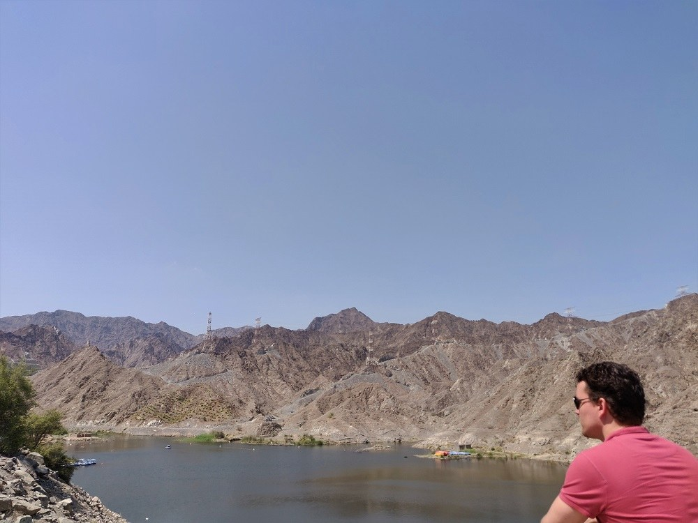 Al Fafisah Dam Fujairah UAE