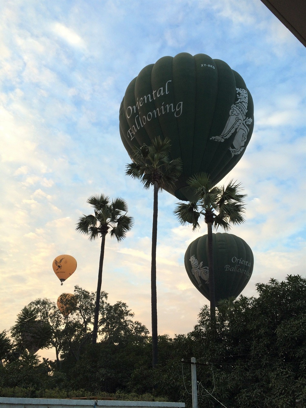Bagan Balloons Myanmar