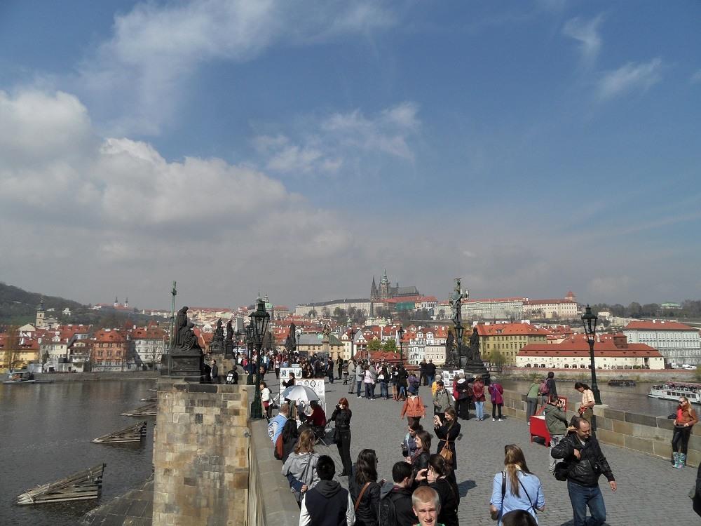 Charles bridge Prague Czech Republic