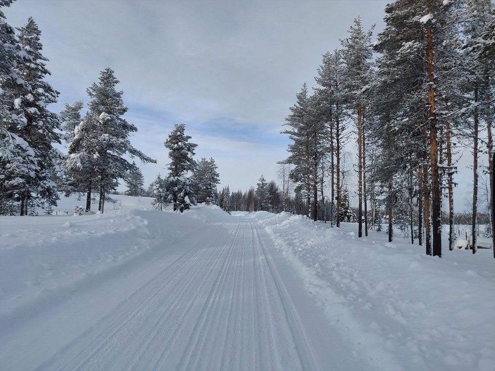 Driving Lapland Roads