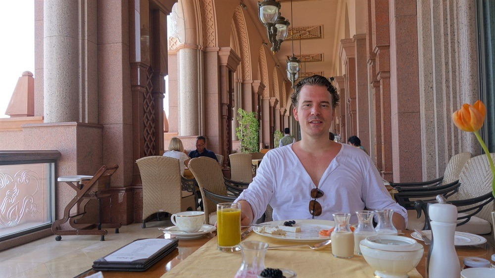 Emirates Palace Breakfast
