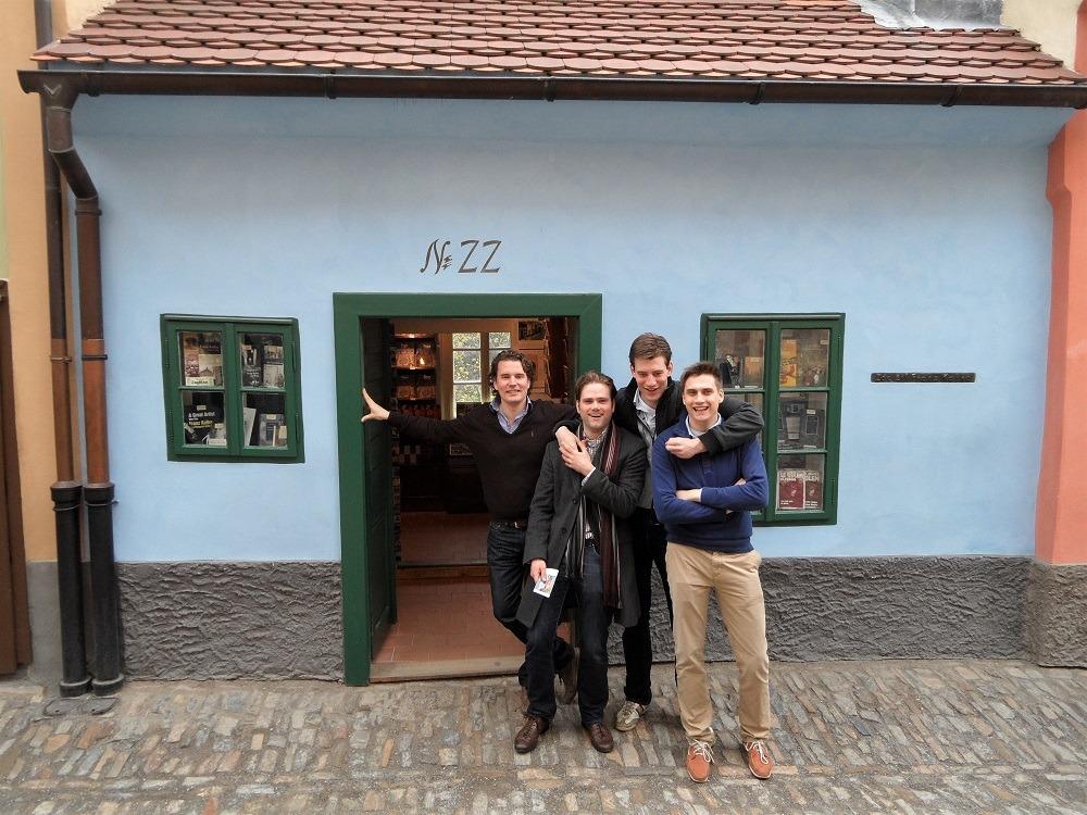 Golden Lane Kafka Prague