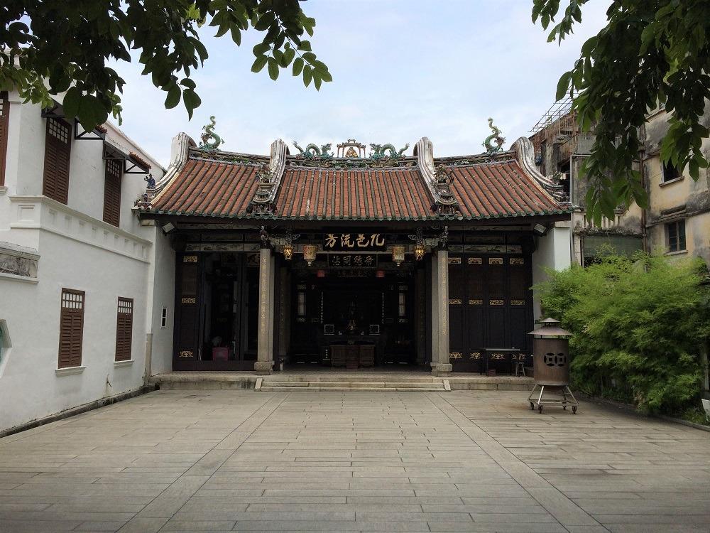 Khoo Kongsi Temple Penang Malaysia