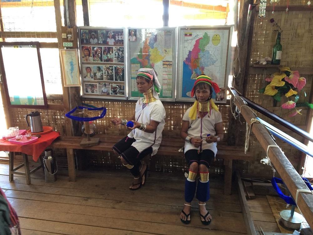 Inle Lake Kayan tribe