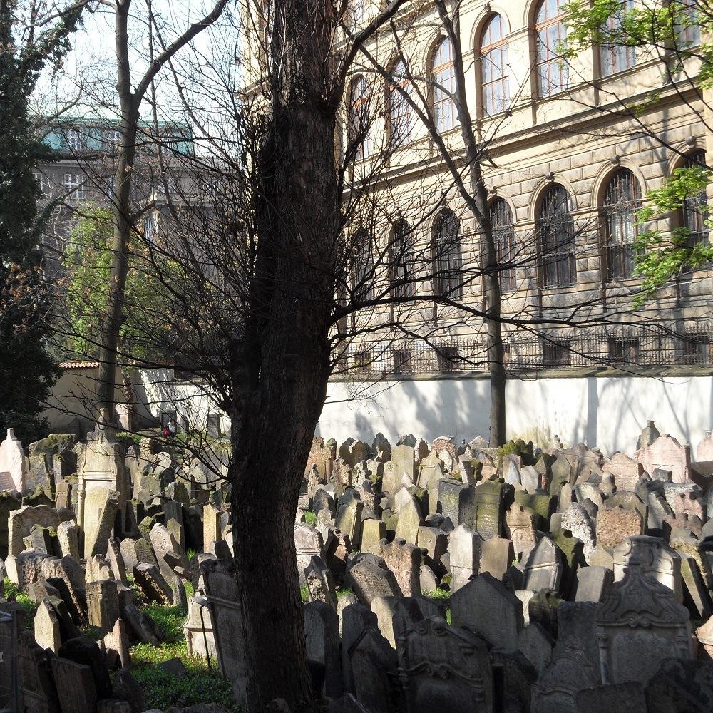 Old Jewish Cemetery Prague Czech Republic