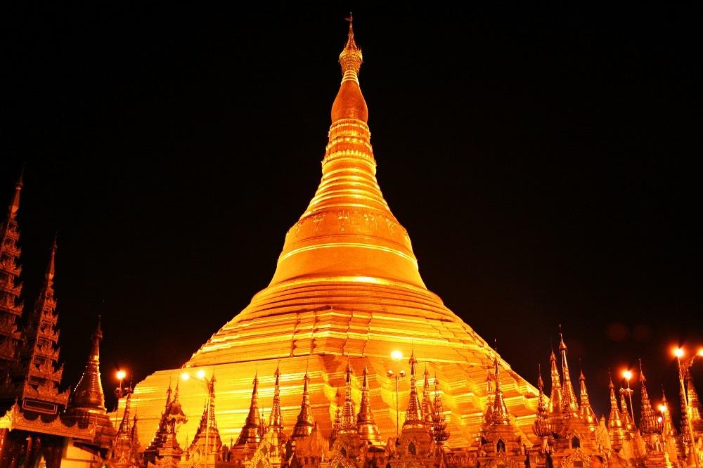Yangon Pagoda Myanmar