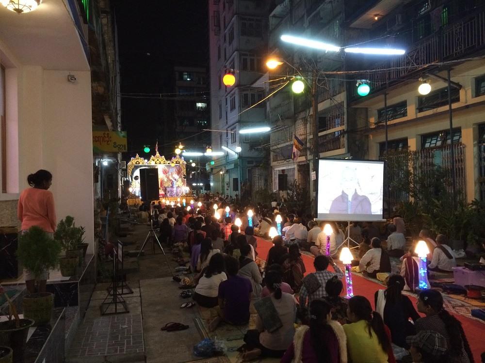Yangon Religious ceremony