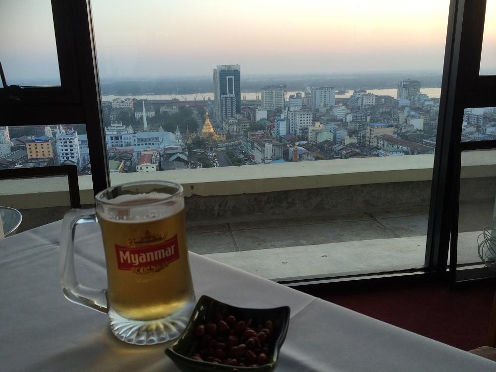 Yangon Skybar Myanmar