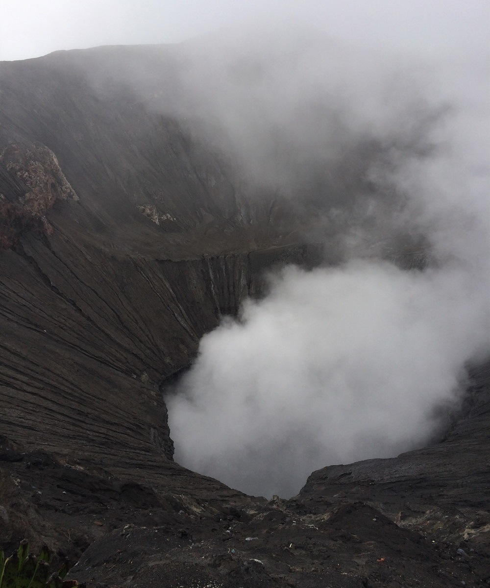 Mt Bromo Crater