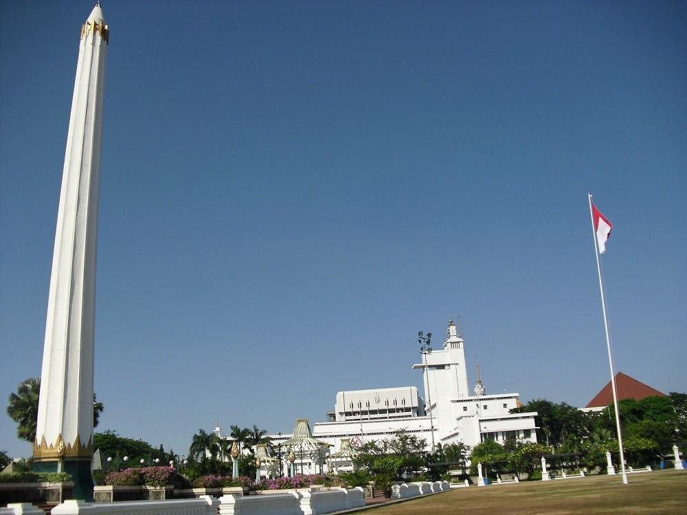Tugu Pahlawan Surabaya Indonesia