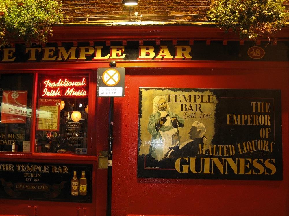 Temple Bar Dublin Ireland