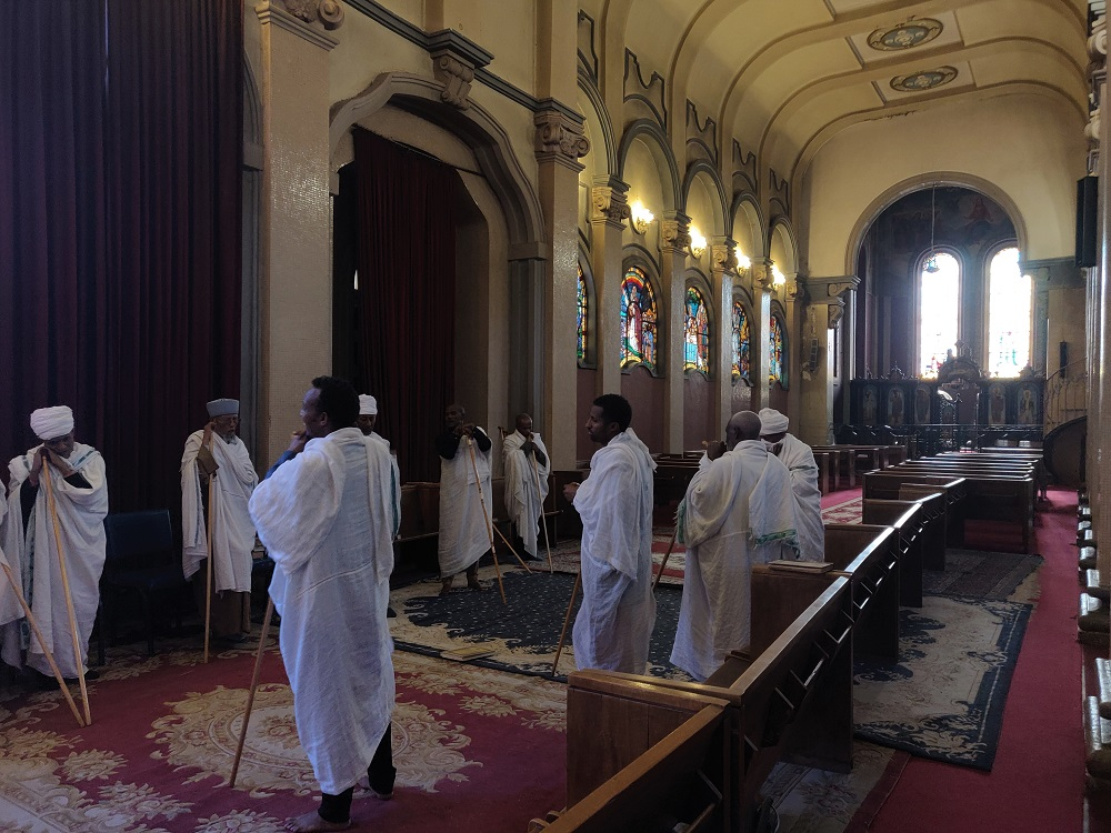 Addis Ababa Holy trinity church