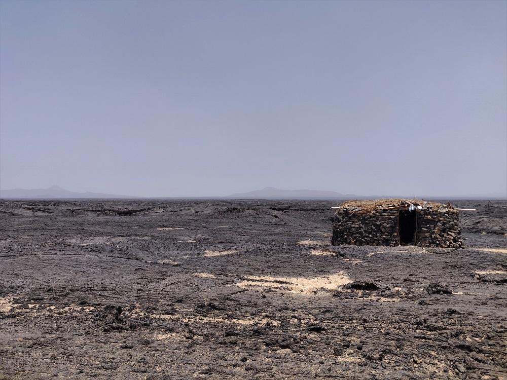 Ethiopia Danakil hut