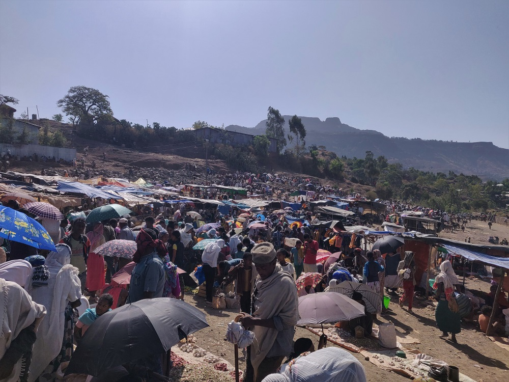 Ethiopia Lalibela Saturday Market