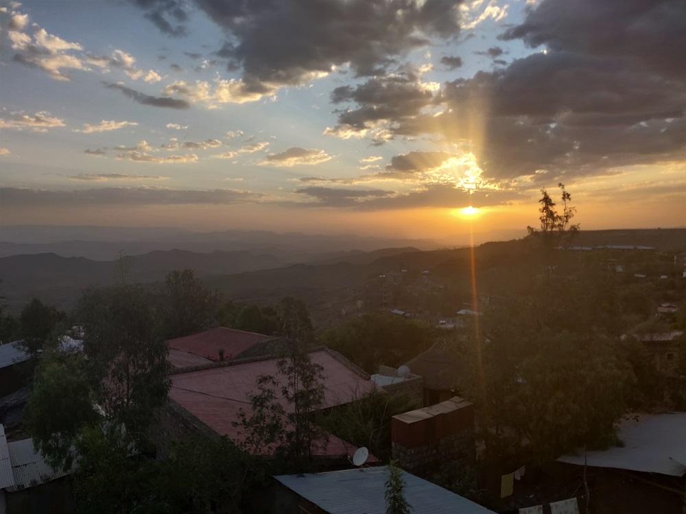 Lalibela sunset